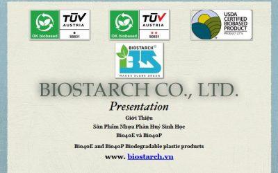 Giới thiệu sản phẩm nhựa phân hủy sinh học Bio40E và Bio40P