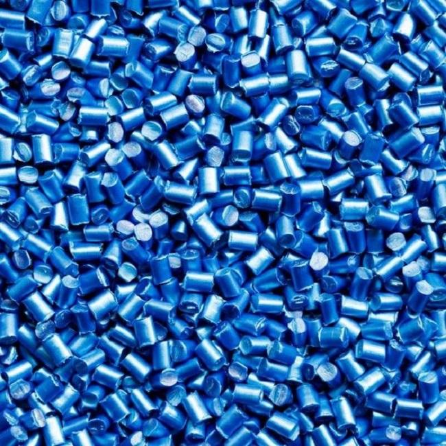 Hạt nhựa tạo màu xanhđường