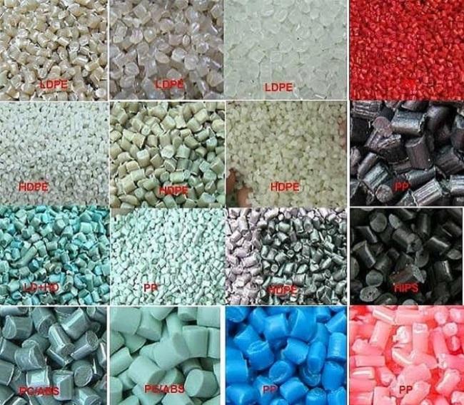Quy trình phân loại nhựa được thực hiện kỹ lưỡng tại nhà máy