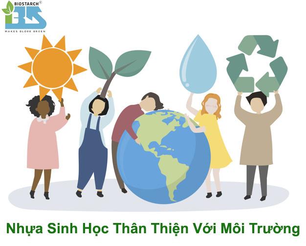Nhựa sinh học thân thiện với môi trường