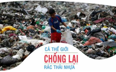 Tình trạng ô nhiễm nhựa ở Việt nam: Cần suy ngẫm về các giải pháp trong tương lai