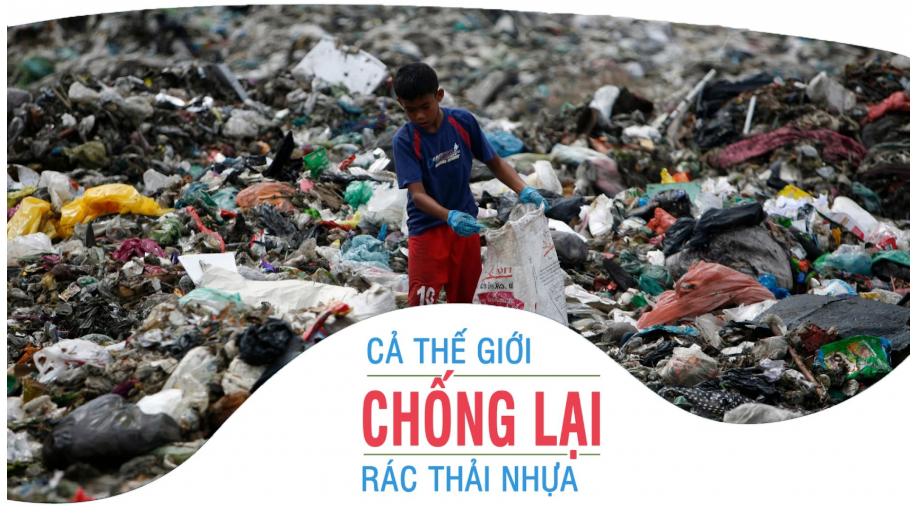 Hãy cùng chung tay chống lại tình trạng ô nhiễm rác thải nhựa