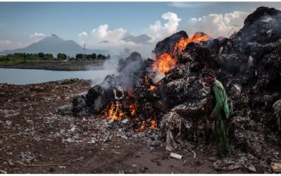 Ô nhiễm không khí do rác thải ảnh hưởng nghiêm trọng đến sức khỏe