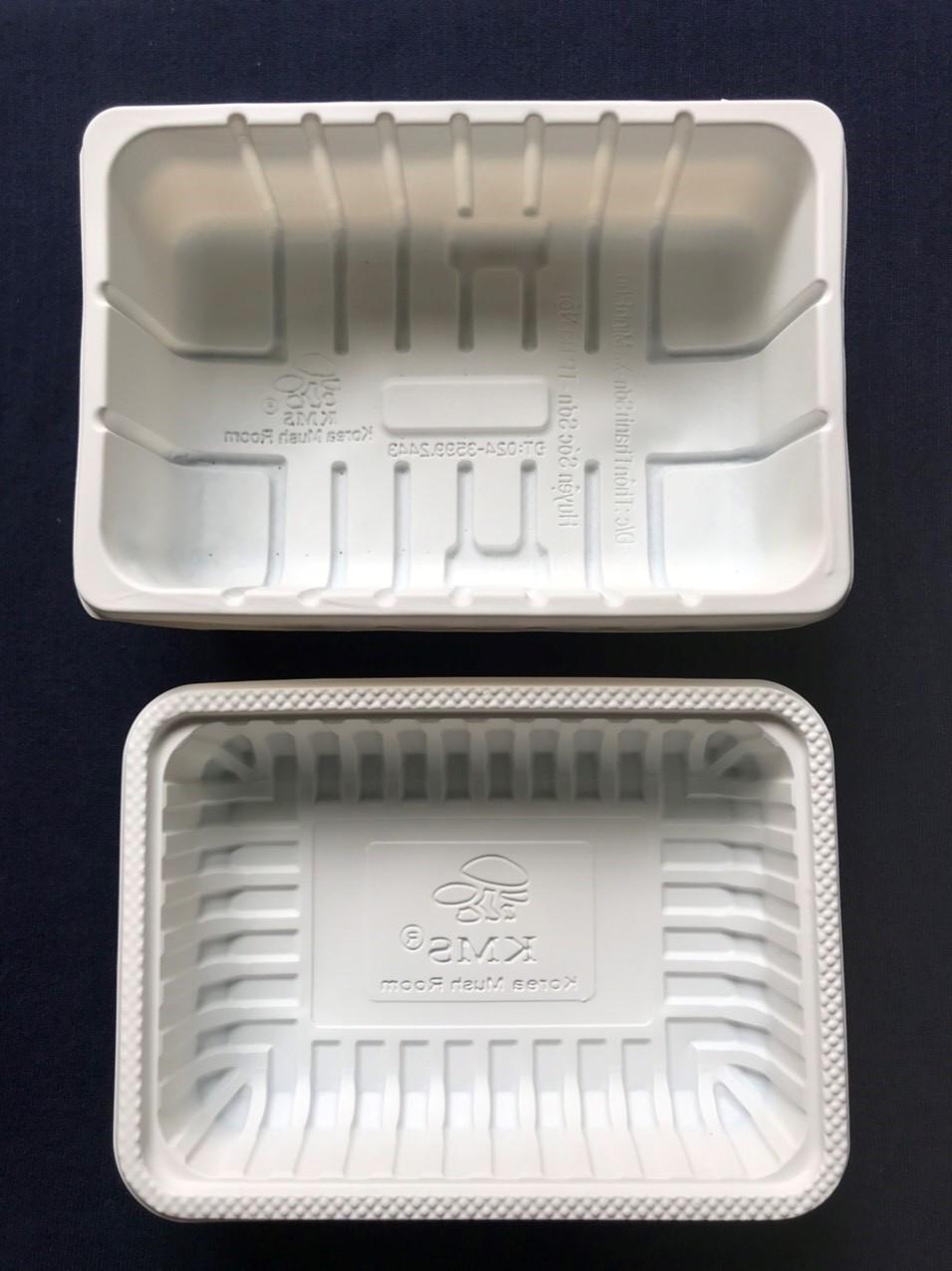 Khay thực phẩm làm từ nhựa sinh học